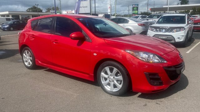 Used Mazda 3 BL10F1 Maxx Sport Cardiff, 2010 Mazda 3 BL10F1 Maxx Sport Red 6 Speed Manual Hatchback