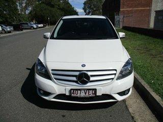 2014 Mercedes-Benz B-Class W246 B180 DCT White 7 Speed Sports Automatic Dual Clutch Hatchback.