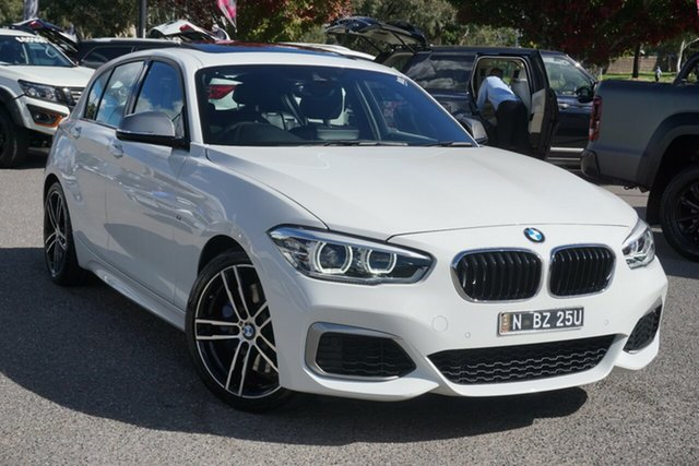 Used BMW 1 Series F20 LCI-2 M140i Phillip, 2018 BMW 1 Series F20 LCI-2 M140i White 8 Speed Sports Automatic Hatchback