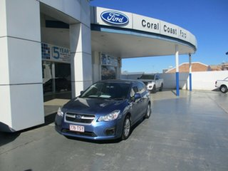 2014 Subaru Impreza MY14 2.0I (AWD) Blue 6 Speed Manual Hatchback.
