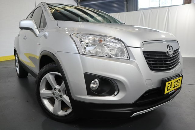 Used Holden Trax TJ MY15 LTZ Castle Hill, 2015 Holden Trax TJ MY15 LTZ Silver 6 Speed Automatic Wagon