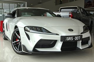 2019 Toyota Supra J29 GR GTS Fuji White 8 Speed Sports Automatic Coupe.