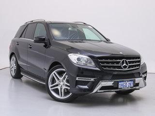 2013 Mercedes-Benz ML250 CDI BlueTEC 166 4x4 Black 7 Speed Automatic Wagon.