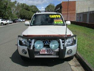 2008 Mitsubishi Pajero NS VR-X White 5 Speed Sports Automatic Wagon.