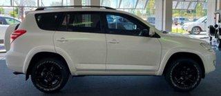 2010 Toyota RAV4 ACA33R MY09 Cruiser Pearl White 4 Speed Automatic Wagon.