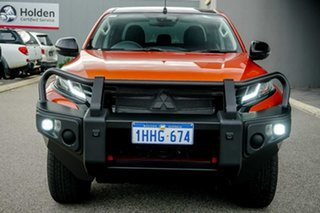 2020 Mitsubishi Triton MR MY20 GSR Double Cab Orange 6 Speed Sports Automatic Utility