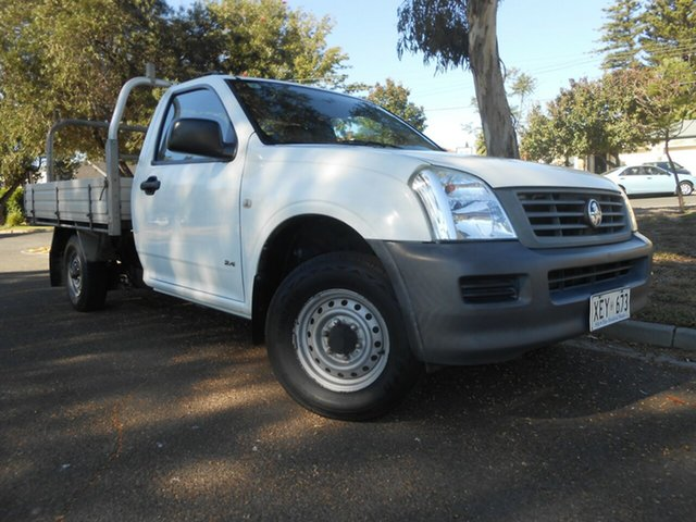 Used Holden Rodeo RA MY05 DX 4x2 Broadview, 2005 Holden Rodeo RA MY05 DX 4x2 5 Speed Manual Cab Chassis
