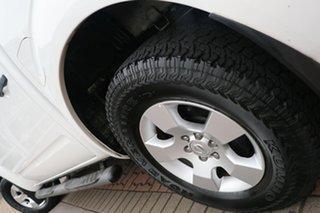 2015 Nissan Navara D40 S9 Silverline SE White 5 Speed Automatic Utility