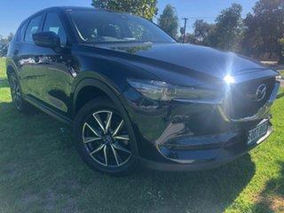 2018 Mazda CX-5 KF4WLA GT SKYACTIV-Drive i-ACTIV AWD Deep Crystal Blue 6 Speed Sports Automatic.
