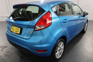 2013 Ford Fiesta WZ Trend PwrShift Blue 6 Speed Sports Automatic Dual Clutch Hatchback