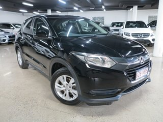 2015 Honda HR-V MY15 VTi Black 1 Speed Constant Variable Hatchback.