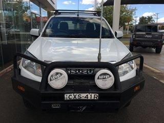 2015 Isuzu D-MAX (No Series) SX White Sports Automatic.