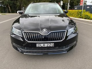 2016 Skoda Superb NP MY16 206TSI DSG Black 6 Speed Sports Automatic Dual Clutch Wagon.