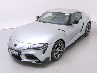 2019 Toyota Supra GR DB42R GT Silver 8 Speed Automatic Coupe