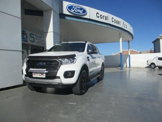 2019 Ford Ranger PX MkIII MY19.75 Wildtrak 2.0 (4x4) White 10 Speed Automatic Double Cab Pick Up.