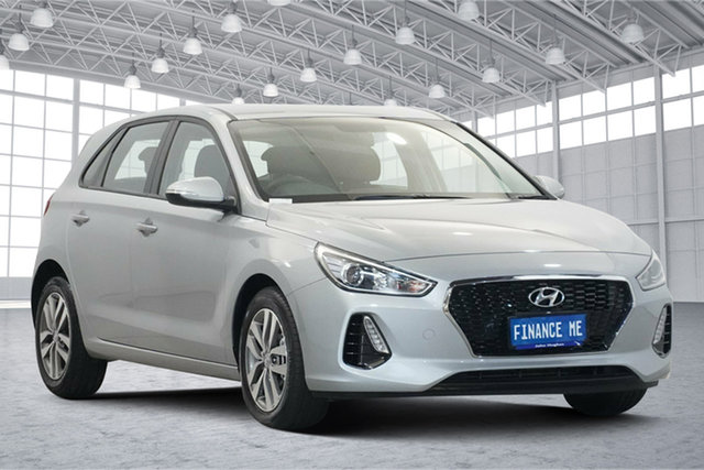 Used Hyundai i30 PD2 MY20 Active Victoria Park, 2019 Hyundai i30 PD2 MY20 Active Silver 6 Speed Sports Automatic Hatchback
