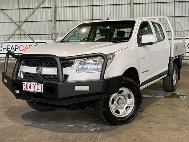 Used Holden Colorado RG MY14 LX Crew Cab Rocklea, 2014 Holden Colorado RG MY14 LX Crew Cab White 6 Speed Sports Automatic Utility
