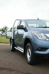 2017 Mazda BT-50 MY16 XT Hi-Rider (4x2) Blue 6 Speed Automatic Freestyle Cab Chassis