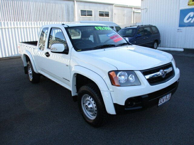 Used Holden Colorado Woodridge, 2010 Holden Colorado 4x2 Extra Cab White 4 Speed Automatic Utility