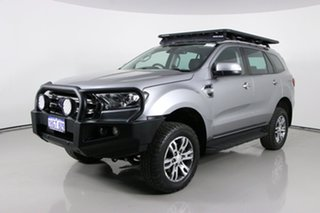 2018 Ford Everest UA II MY19 Trend (4WD 7 Seat) Grey 6 Speed Automatic SUV.