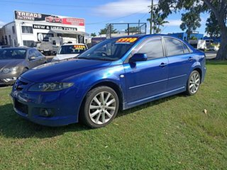 2005 Mazda 6 GG1031 MY04 Luxury Sports Blue 4 Speed Sports Automatic Hatchback.