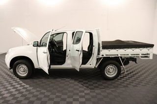 2016 Isuzu D-MAX MY15.5 SX Crew Cab 4x2 High Ride White 5 speed Automatic Cab Chassis