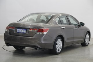 2013 Honda Accord 8th Gen MY12 V6 Luxury Brown 5 Speed Sports Automatic Sedan