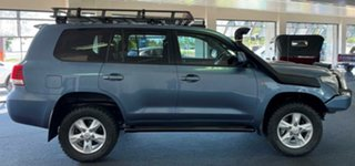 2011 Toyota Landcruiser VDJ200R MY10 Sahara Blue 6 Speed Sports Automatic Wagon.