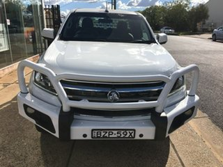 2017 Holden Colorado RG LS White Sports Automatic.