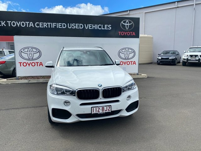 Pre-Owned BMW X5 F15 MY16 xDrive30d Warwick, 2017 BMW X5 F15 MY16 xDrive30d White 8 Speed Automatic Wagon