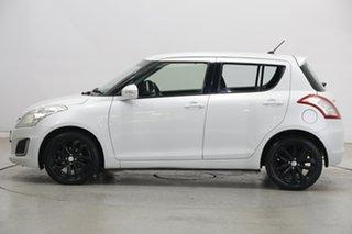 2015 Suzuki Swift FZ MY15 GL Navigator White 4 Speed Automatic Hatchback.