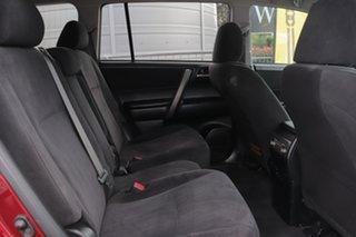 2010 Toyota Kluger GSU45R KX-R AWD Maroon 5 Speed Sports Automatic Wagon