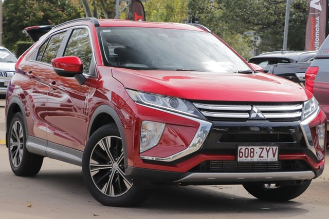 Demo Mitsubishi Eclipse Cross YA MY18 LS 2WD Toowoomba, 2018 Mitsubishi Eclipse Cross YA MY18 LS 2WD Red Diamond 8 Speed Constant Variable Wagon