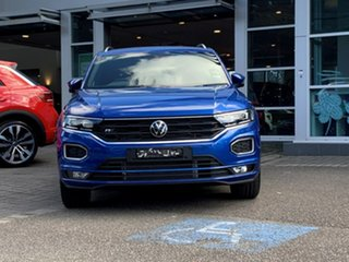 2021 Volkswagen T-ROC A1 MY21 140TSI DSG 4MOTION Sport Blue 7 Speed Sports Automatic Dual Clutch.