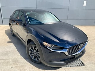 2021 Mazda CX-30 DM2W7A G20 SKYACTIV-Drive Pure Deep Crystal Blue 6 Speed Sports Automatic Wagon.
