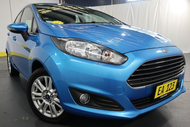 Used Ford Fiesta WZ Trend Castle Hill, 2013 Ford Fiesta WZ Trend Blue 6 Speed Automatic Hatchback