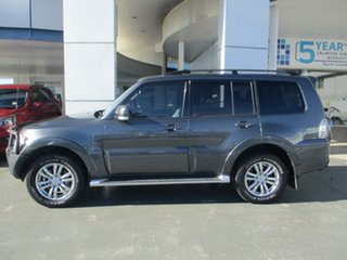 2012 Mitsubishi Pajero NW MY13 VR-X LWB (4x4) Grey 5 Speed Auto Sports Mode Wagon.