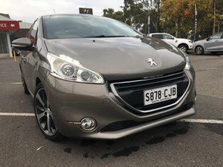 2014 Peugeot 208 A9 MY14 Allure Premium Grey & Silver 4 Speed Automatic Hatchback