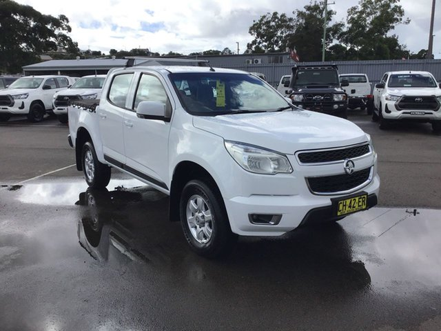 Used Holden Colorado RG MY16 LT Crew Cab 4x2 Cardiff, 2016 Holden Colorado RG MY16 LT Crew Cab 4x2 White 6 Speed Sports Automatic Utility