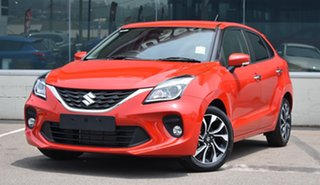 2021 Suzuki Baleno EW Series II GLX Red 4 Speed Automatic Hatchback.
