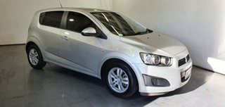 2012 Holden Barina TM MY13 CD Silver 5 Speed Manual Hatchback