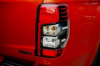 2020 Mitsubishi Triton MR MY20 GSR Double Cab Orange 6 Speed Sports Automatic Utility