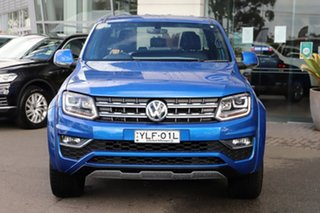 2018 Volkswagen Amarok 2H MY18 TDI580 4MOTION Perm Ultimate Blue 8 Speed Automatic Utility