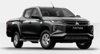 2021 Mitsubishi Triton MR MY21 GLX+ Double Cab Grey 6 Speed Sports Automatic Utility