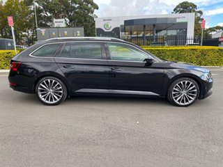 2016 Skoda Superb NP MY16 206TSI DSG Black 6 Speed Sports Automatic Dual Clutch Wagon