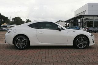 2016 Toyota 86 ZN6 GTS Crystal White Pearl 6 Speed Sports Automatic Coupe
