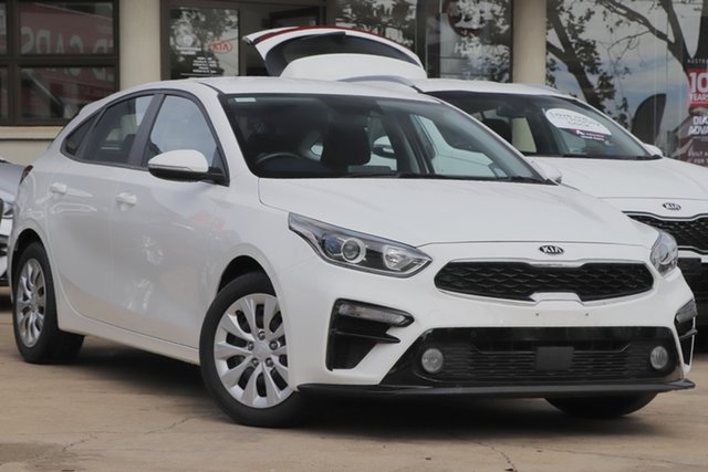 Used Kia Cerato BD MY20 S Toowoomba, 2019 Kia Cerato BD MY20 S White 6 Speed Sports Automatic Hatchback