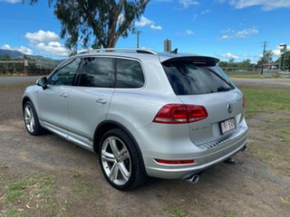 2012 Volkswagen Touareg 7P MY13 V8 TDI Tiptronic 4MOTION R-Line Silver 8 Speed Sports Automatic