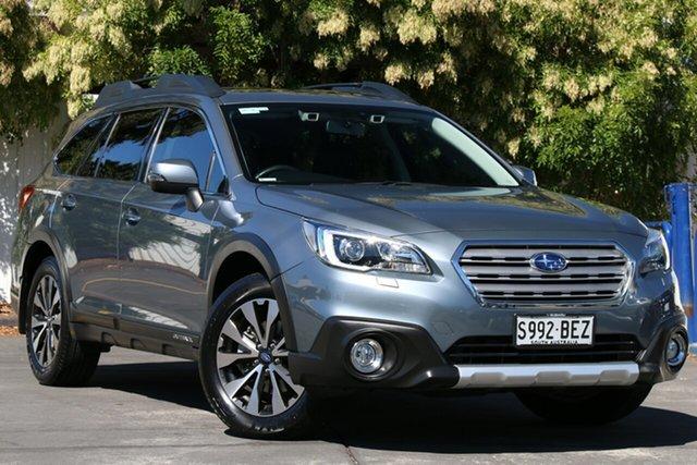 Used Subaru Outback B6A MY15 2.5i CVT AWD Premium Glenelg, 2015 Subaru Outback B6A MY15 2.5i CVT AWD Premium Platinum Grey 6 Speed Constant Variable Wagon