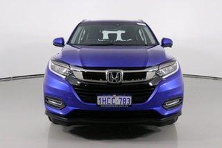 2020 Honda HR-V MY21 VTi-S Brilliant Blue Continuous Variable Wagon.